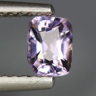 0.57 Cts_Unique Hi-End Very Rare Gem_100 % Natural Purplish Grey Spinel_Burmesh