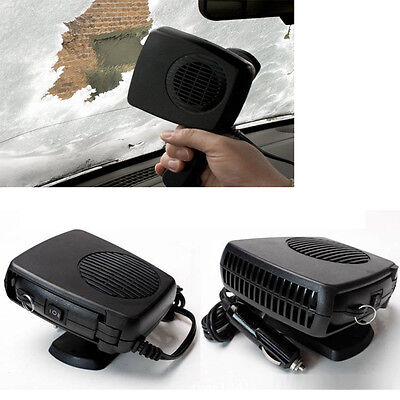 NEW 12V Car Portable Ceramic Heating Cooling Heater Fan Defroster Demister 150W