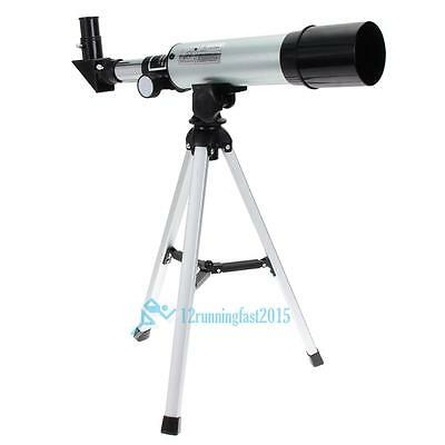 Refractive Monocular Astronomical Telescope Portable Tripod Spotting Scope New!