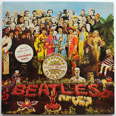 The Beatles - Sgt. Peppers - Aust. Edition Coloured Vinyl LP record