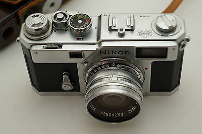 Nikon S3 Rangefinder Camera With 50Mm 1.4 Lens