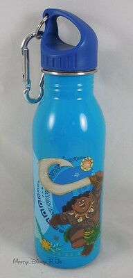 NEW Disney Store Moana & Maui Stainless Steel Water Bottle 20 Oz Canteen Flask