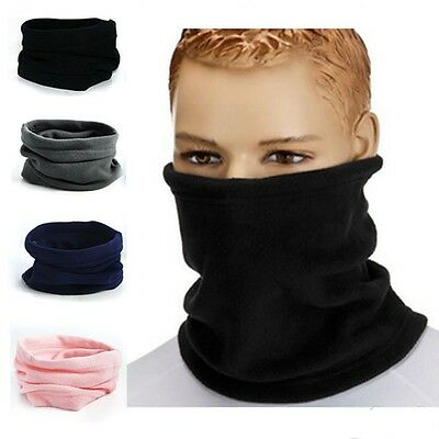Multi Use Women Men Head Over Cycling Scarf Sport Knitted Warm Neck Warmer Snood