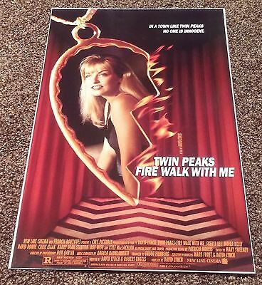 TWIN PEAKS: FIRE WALK WITH ME Movie POSTER 11x17