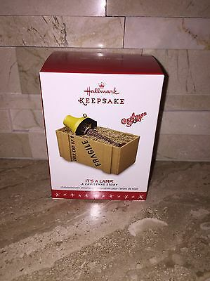 Hallmark A Christmas Story Its A Lamp Ornament