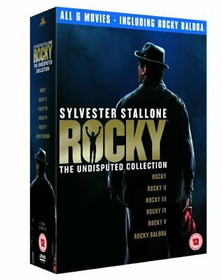 Sylvester Stallone - Rocky: The Undisputed Collection [DVD] - DVD  R6VG The