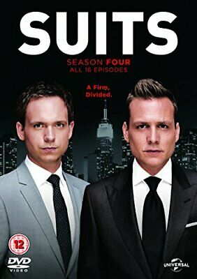 Suits - Season 4 [DVD] - DVD  HOVG The Cheap Fast Free Post