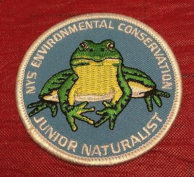 New York State DEC Environmental Conservation Junior Naturalist Patch Frog Toad