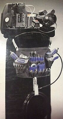 NEW Kobalt 18-Pocket Air Compressor Tool Caddy