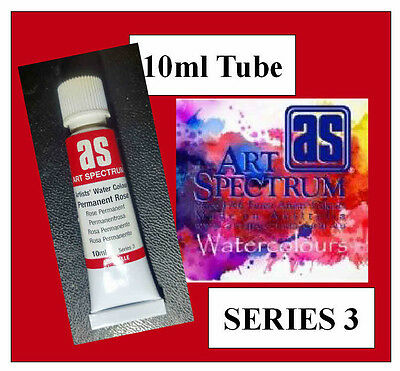 ART SPECTRUM FINEST ARTIST WATERCOLOUR 10ml TUBE PERMANENT ROSE  SERIES 3