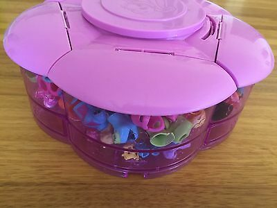 Bulk Lot 1 Polly Pocket Clothes, RARE Storage Container, accessories