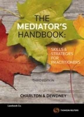 NEW The Mediator's Handbook By Ruth Charlton Paperback Free Shipping