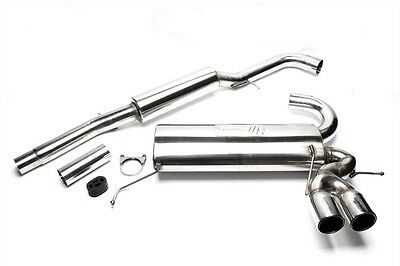 TA STAINLESS STEEL SPORT EXHAUST SYSTEM FROM CAT 0 1/16X3in AUDI A3 8L QUATTRO+