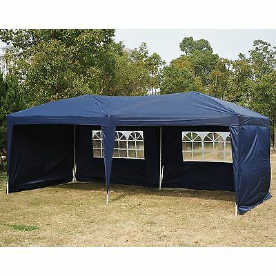 10x20ft Pop Up Party Tent Gazebo Canopy 4 Sidewall Wedding Outdoor Patio Event