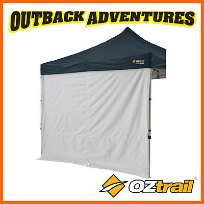 1 x OZTRAIL 3m DELUXE SOLID SIDE WALL WITH CENTRE ZIP GAZEBO