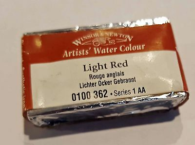 Light Red Winsor And Newton   Series 1 Full Pan Watercolour Duckpond