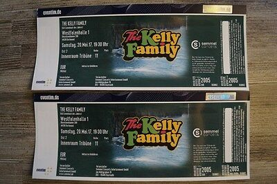 The Kelly Family | 2 x Innenraum Tribühne  | Dortmund Sa. 20.05.2017
