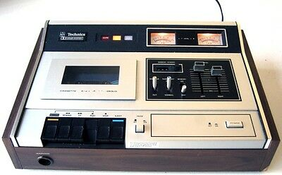 Vintage 1970s Technics Stereo Cassette Tape Deck RS-263US - Working