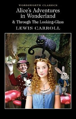 Alice's Adventures in Wonderland Lewis Carroll Wordsworth Book New Free UK Post