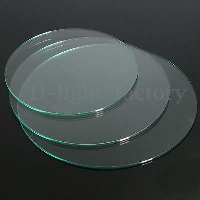 3 Size 3D Printer Heated Bed Tempered Borosilicate Round Glass Build Plate 3mm
