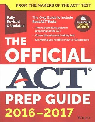 The Official ACT Prep Guide, 2016-2017 by ACT 9781119225416 (Paperback, 2016)