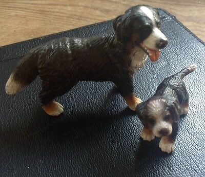Schleich Toy Bernese Mountain Dogs Group