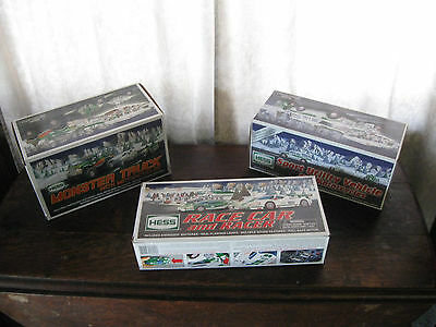 Vintage Hess Trucks & Cars Lot #2 Three Vehicles