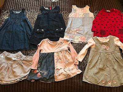 Baby Toddler Girls Age 12-18 Months Clothing Dress Skirt Bundle Mainly Next