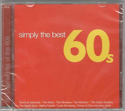 Simply The Best 60's Various Artists Sealed 2 Cd Set New