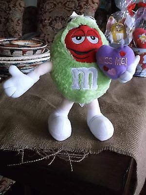 M&M's Valentine Plush Red Guy as the Frog, Kiss Me