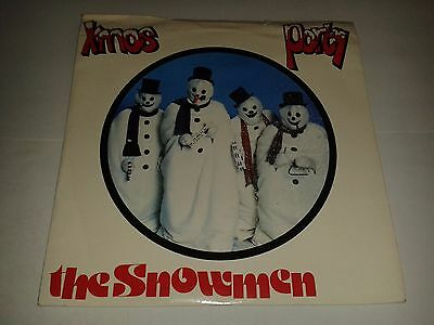 "The Snowmen -   ""Xmas Party""  7"" (1982) EX   / ""Dance Of The Snowmen"" / STOP 006"