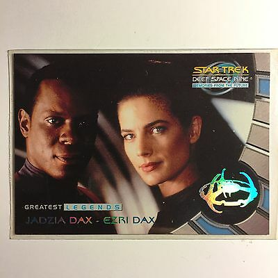 Star Trek DS9 MFTF Sonderkarte L6 Greatest Legends Zustand Mint Trading Cards