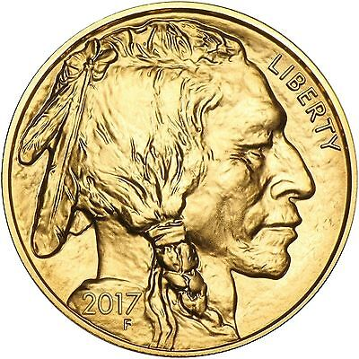 2017 American Gold Buffalo 1 OZ ($50) UNC RAW