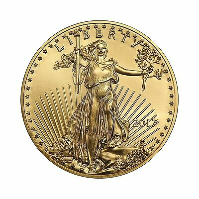 2017 1/2oz Gold American Eagle BU