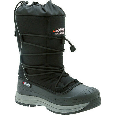 Baffin Snogoose Womens Snowmobile Boots Black 11