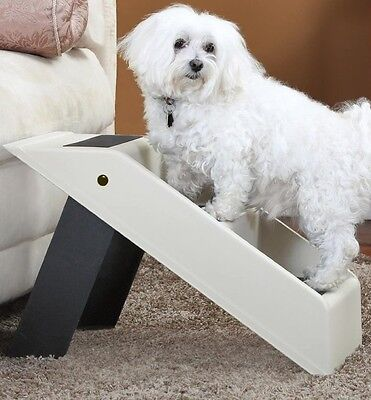 Imperial Home Portable and Foldable 3 Step Pet Stair