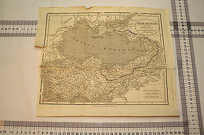 Antique Map - Asia Minor and the Euxin Sea - Drawn for Rollin's Ancient History