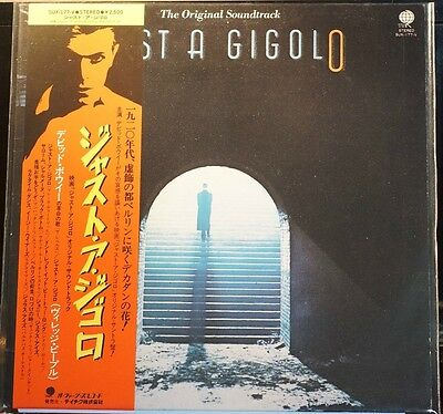Rare David Bowie Just A Gigolo Overseas Records JAPAN SUX177V B:MINT/A:EX SLV EX