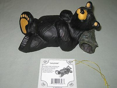 Bearfoots Ralphie Bear Signed Jeff Fleming Dated 7-2002 Numbered #15854 W/ Tag