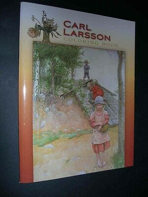 CARL LARSSON COLORING BOOK 22 Pictures to Colour from Swedish Artist POMEGRANATE