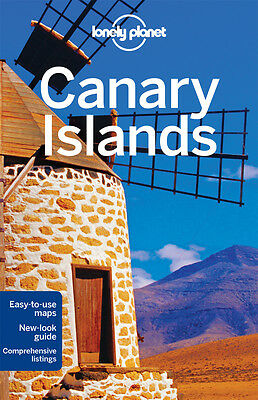 Lonely Planet CANARY ISLANDS 6 (Travel Guide) - BRAND NEW PAPERBACK