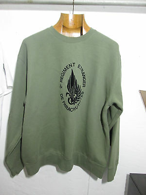 Sweat French Foreign ,Legion Etrangere -2 REP-5 cie-size L -5th company-desert