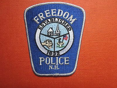 Collectible Freedom, New Hampshire Police Patch New