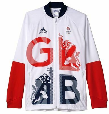 Adidas Team Gb Rio 2016 Mens Presentation Jacket  -Bnwt- Size Medium Rrp £80