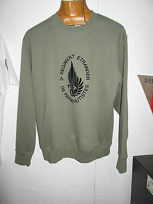 Sweat French Foreign ,Legion Etrangere -2 REP-5 cie-size M-SWEAT-JUMPER