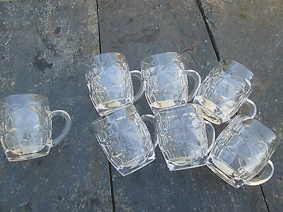 French Foreign Legion Etrangere  - 2 REP- 4cie -BEER STEIN GLASS--0,4p /0,2 L