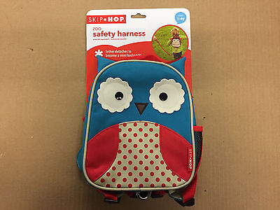 Skip Hop Harnesses Leashes Zoo Little Kid Safety Harness, Otis Owl