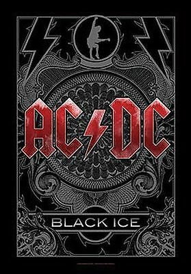 AC/DC - BLACK ICE - FABRIC POSTER - 30 x 40  WALL HANGING 51979