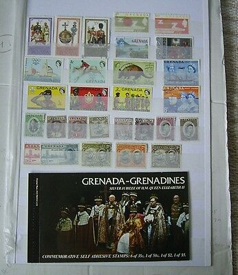 Grenada Mint And Used Stamps + A Booklet Victoria To Elizabeth Ii