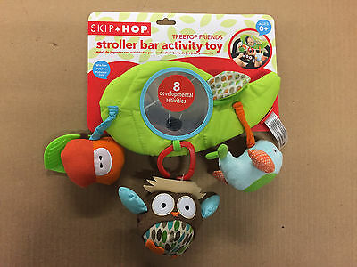 Skip Hop Stroller Bar Activity Toy, Treetop Friends